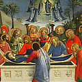 The Dormition Of The Virgin by Fra Angelico