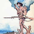 The Doughboy Stands by Katherine Miller