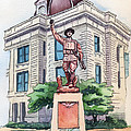 The Doughboy Statue by Katherine Miller