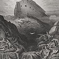 The Dove Sent Forth From The Ark by Gustave Dore