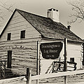 The Downingtown Log House  by Bill Cannon