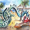 The Dragon From Penicosla by Miki De Goodaboom