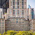The Drake Hotel In Downtown Chicago by Paul Velgos