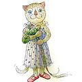The Dream Cat 01 by Kestutis Kasparavicius