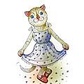 The Dream Cat 03 by Kestutis Kasparavicius