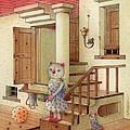 The Dream Cat 06 by Kestutis Kasparavicius