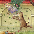 The Dream Cat 16 by Kestutis Kasparavicius