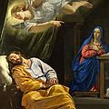 The Dream Of Saint Joseph by Philippe de Champaigne