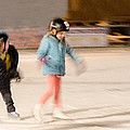 The Dreams Of Little Skaters  by Susan McMenamin