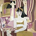 The Dressing Room by Gustave de Smet