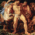 The Drunken Hercules by Peter Paul Rubens