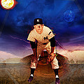 The Duality Of Mickey Mantle American Hero by Retro Images Archive