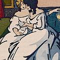 The Duchesse De Langeais Visiting The Vicomtesse De Beauseant by Quint