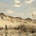 The Dunes Of Dunkirk by Jean Baptiste Camille Corot