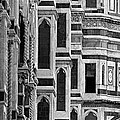 The Duomo Black And White by Mike Nellums