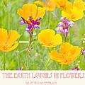The Earth Laughs In Flowers Digital Art by A Gurmankin