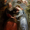 The Education Of The Virgin by Peter Paul Rubens
