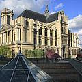 The Eglise De Saint-eustache Paris France  by Ivan Pendjakov