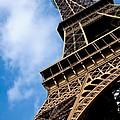 The Eiffel Tower From Below by Nila Newsom
