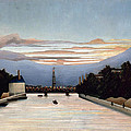 The Eiffel Tower by Henri Rousseau