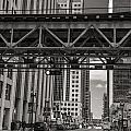 The El In Chicago  by John McGraw
