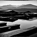 The Elkins Marina On Priest Lake Idaho by David Patterson