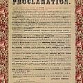 The Emancipation Proclamation by American School