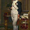 The Emperor Napoleon In His Study by Mountain Dreams