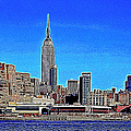 The Empire State Building And The New York Skyline 20130430 by Wingsdomain Art and Photography
