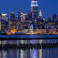 The Empire State Building Pastels Esb by Susan Candelario