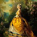 The Empress Eugenie by Franz Xaver Winterhalter