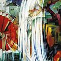 The Enchanted Mill by Franz Marc