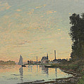 The End Of The Afternoon by Claude Monet