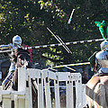 The End To The Jousting Contest  by John Telfer