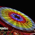 The Enterprise Amusement Park Ride by Deb Fruscella