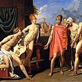 The Envoys Of Agamemnon by Jean-Auguste-Dominique Ingres