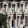 The Ephesus Library In Turkey by Sabrina L Ryan
