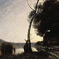 The Evening Star by Jean Baptiste Camille Corot