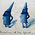 The Evolution Of The Artist by Gwyn Newcombe