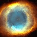 The Eye Of God-helix Nebula Close Up by Eti Reid