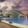The Eye Of Valencia by Fabio  Mancino
