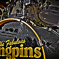 The Fabulous Kingpins Drums by David Patterson