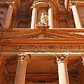 The Facade Of Al Khazneh In Petra Jordan by Robert Preston