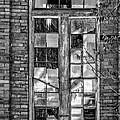 The Factory Window Bw by Steve Harrington
