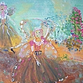 The Fairies And The Artist by Judith Desrosiers