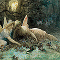 The Fairies From William Shakespeare Scene by Gustave Dore