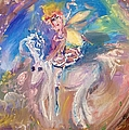 The Fairy And The Unicorn  by Judith Desrosiers