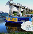 The Falkirk Wheel by David Cairns