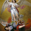 The Fall Of Lucifer by Antonio Maria Esquivel