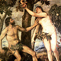 The Fall Of Man by Titian